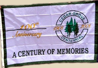 [100th anniversary Flag of Cedar Grove Township, New Jersey]