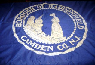 [Flag of Haddonfield, New Jersey]