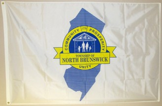 [Flag of North Brunswick Township, New Jersey]