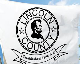 [Flag of Lincoln County, Nevada]