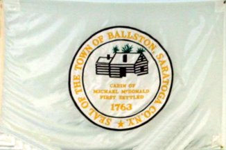 [Flag of Town of Ballston, New York]