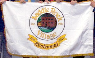 [Centennial Flag of Saddle Rock Village, North Hempstead, New York]