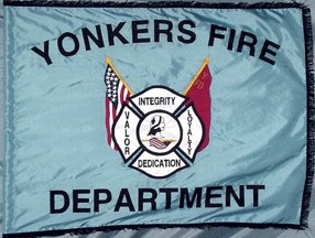[Fire Dept. Flag of Yonkers, New York]