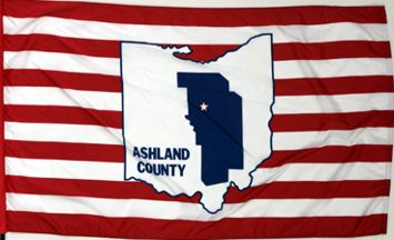 [Flag of Ashland County, Ohio]
