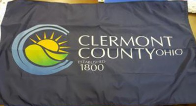 [Flag of Clermont County, Ohio]