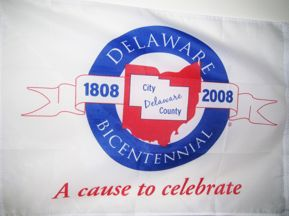 [Bicentennial Flag of Delaware County, Ohio]
