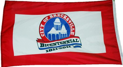 [Bicentennial Flag of Brecksville, Ohio]
