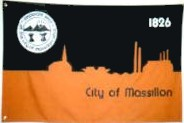 [Flag of Massillon, Ohio]