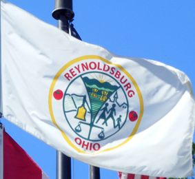 [Flag of Reynoldsburg, Ohio]
