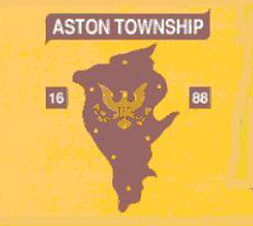 [flag of Aston Township, Pennsylvania]