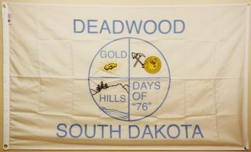 [Flag of Deadwood, South Dakota]