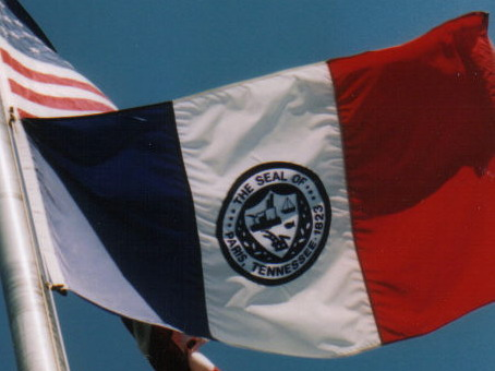 [Flag of Paris, Tennessee]