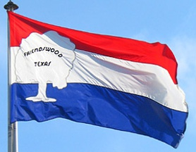 [Flag of Friendswood, Texas]