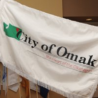 [Flag of Omak, Washington]