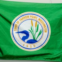 [Flag of Yarrow Point, Washington]