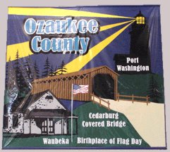 [Ozaukee County, Wisconsin flag]