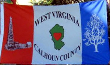 [Possible Flag of Calhoun County, West Virginia]