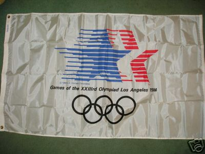 [1984 Olympic Games (Los Angeles) flag]