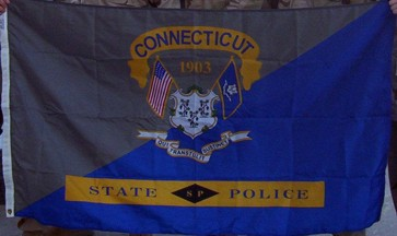 CT State Police flag