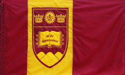 [Flag of Boston College, Massachusetts]