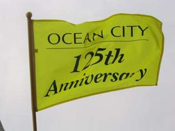 [125th anniversary Flag of Ocean City, New Jersey]