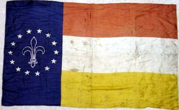 [1904 World's Fair flag of St. Louis, Missouri]