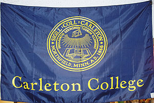 [Flag of Carleton College, Minnesota]