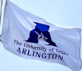 [Flag of University of Texas at Arlington, Texas]