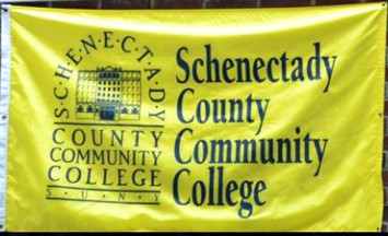 [Flag of Schenectady County Community College, New York]