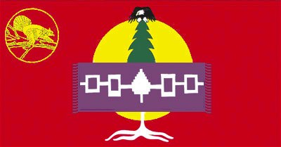 [Mohawk of Akwesasne flag]