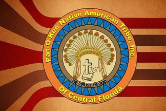 [Pan-O-Kee Native American Tribe of Central Florida flag]