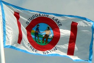 [Sturgeon Lake Cree Nation flag]